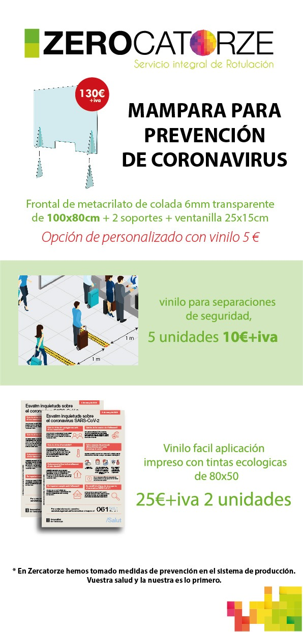 Mamparas protectoras Lowcost